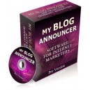 My Blog Announcer