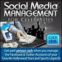 Social Media Management for Celebrities