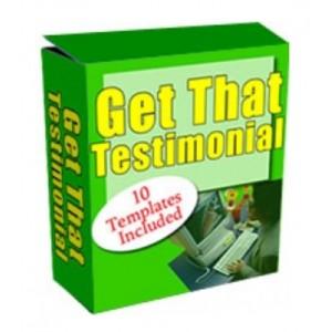 Get That Testimonial: An Easy-To-Use PHP/MySQL Driven Script