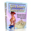 Fully Loaded Gift Store Generator - PHP Script