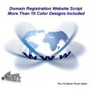 Domain Registration Website Script - (MRR)