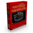 Video Squeeze Page Generator - Software & Video - (MRR)