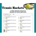 Amazon Store Tennis Rackets - (MRR)